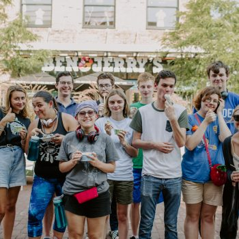 Mansfield Hall - Burlington - Students