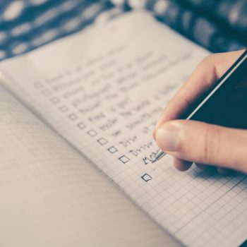 Task lists in notebook